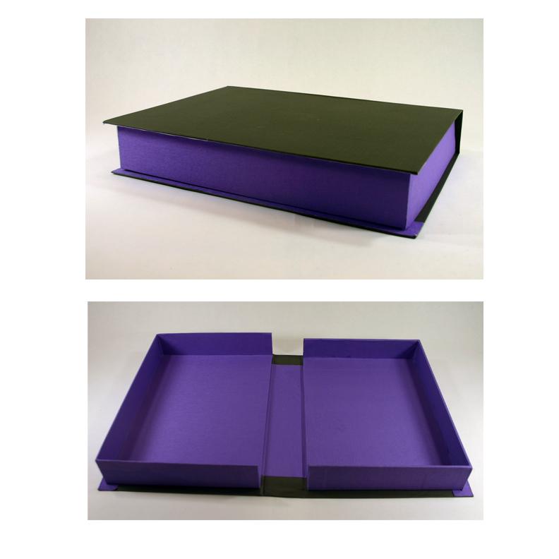 This is a handmade portfolio box.